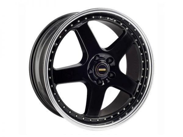 simmons fr1 5 spoke deep dish wheels rims black gold silver white