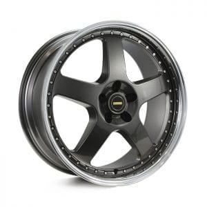 simmons fr1 hyper dark 5 spoke dish wheels