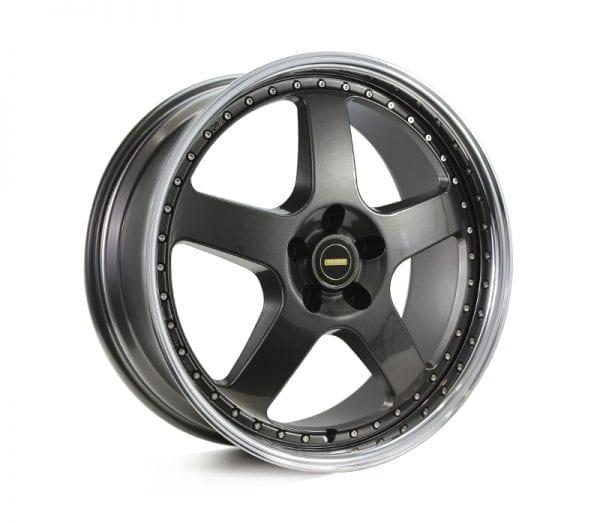 simmons fr1 hyper dark 5 spoke dish wheels