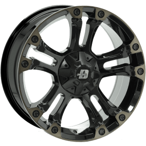 diesel brooklyn gloss black dark tint wheels rims 4x4 4wd