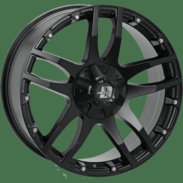diesel cliff matte black wheel rims 4x4 4wd