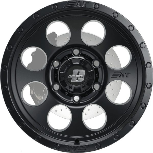diesel desert matte grey black wheels rims 4x4 4wd