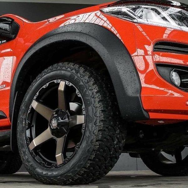 diesel exodus dark tint matte black concave 5 spoke wheels rims 4x4 4wd