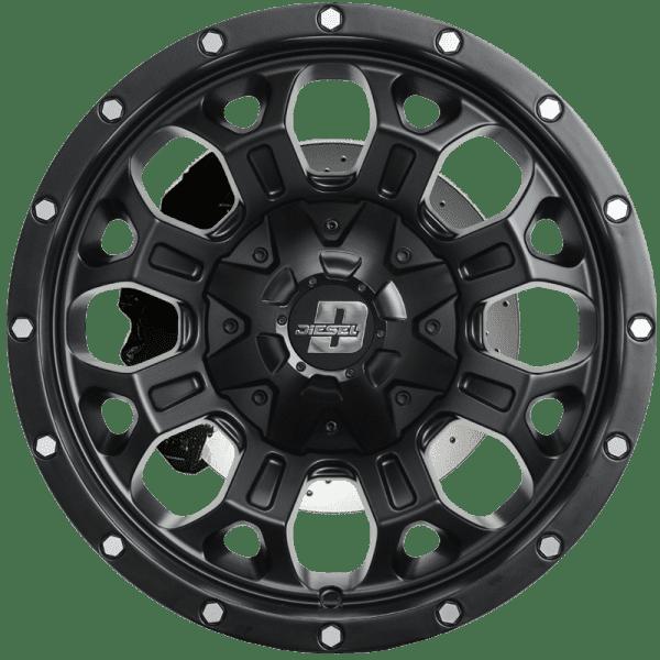 diesel hurricane matte black bronze wheels rims 4x4 4wd