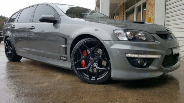 ssw dominate matte black gunmetal grey concave wheels