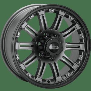 ssw hssw granite matte black grey 4x4 4wd wheels rims