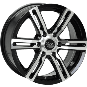 ssw kargin black machined polished wheels rims 4x4 4wd