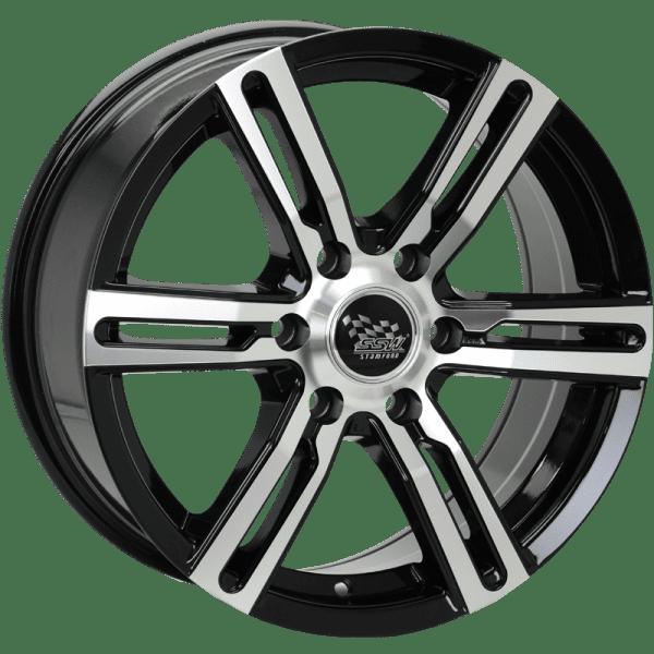 ssw kargin black machined polished wheels rims 4x4 4wd