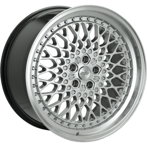 ssw lace silver gloss black polished deep dish wheels rims
