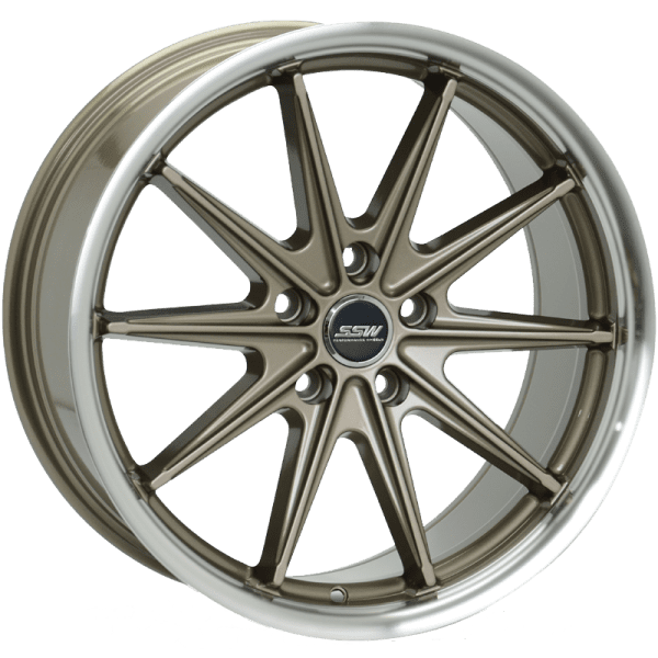 ssw monaco bronze polished gloss black dish wheels rims