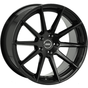 ssw nurberg gloss black concave spoke wheels rims