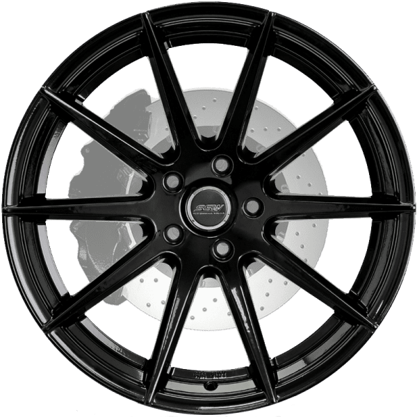 ssw nurberg gloss black concave spoke wheels rims