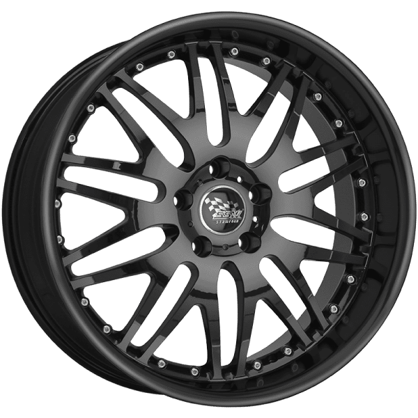 ssw raptor silver polished black mesh deep dish wheels rims