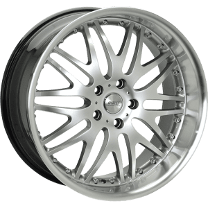 ssw raptor silver polished black mesh deep dish wheels rims