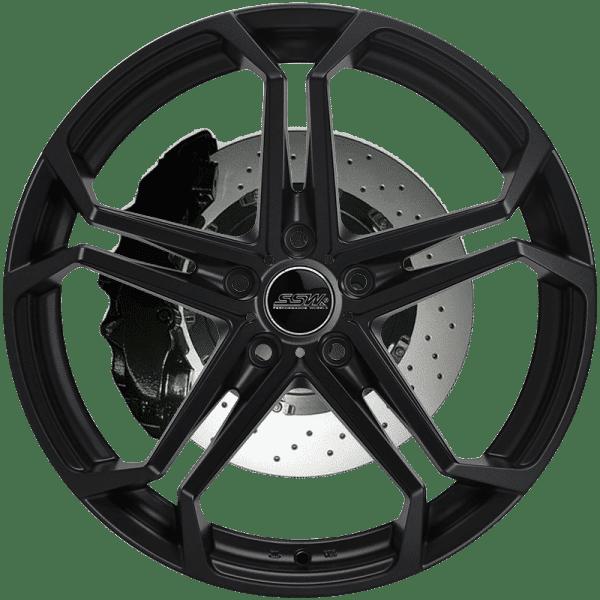 ssw revenge matte black concave wheels rims