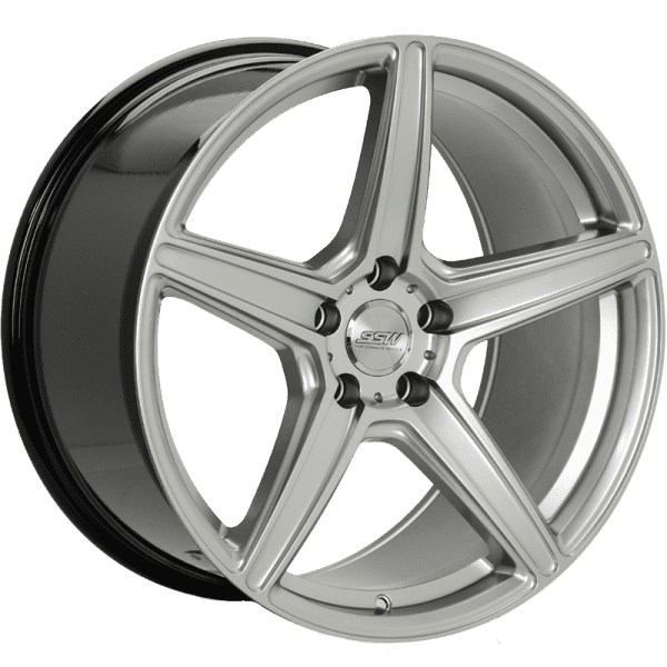ssw rspec 5 spoke concave silver wheels rims