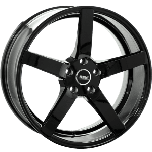 ssw stella 2 black 5 spoke concave wheels rims