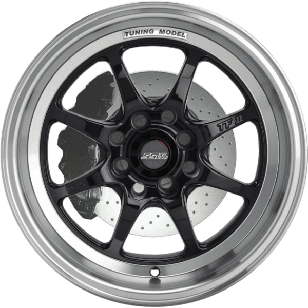 ssw tuning bronze 8 spoke dish bronze gloss black polished jdm wheels rims