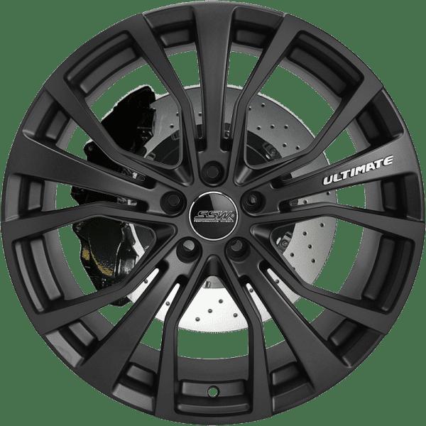 ssw ultimate matte black polished machined wheels rims