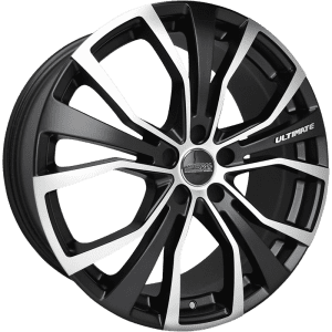 ssw ultimate matte black polished machined wheels rims