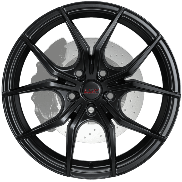 ssw venom gloss black machined matte black wheels rims