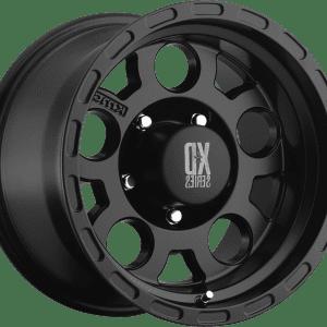 kmc xd122 enduro matte black wheels rims 4x4 4wd