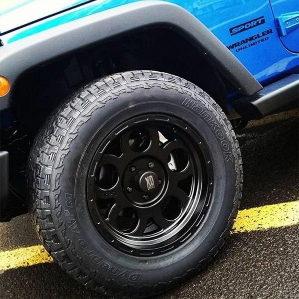 kmc xd122 enduro matte black wheels rims 4x4 4wd