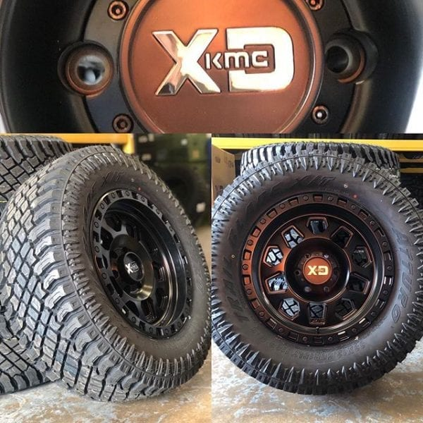kmc xd132 rg2 matte black wheels rims 4x4 4wd