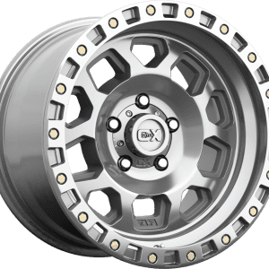 kmc xd132 rg2 polished machined wheels rims 4x4 4wd