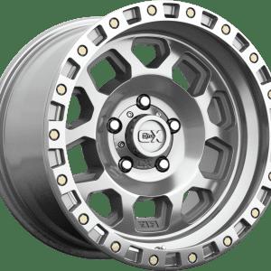 kmc xd132 rg2 polished machined wheels rims 4x4 4wd