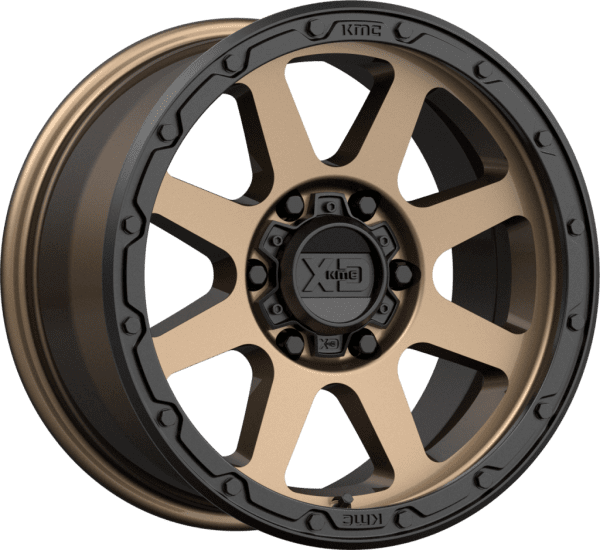 kmc xd134 addict 2 machined black bronze wheels rims 4x4 4wd