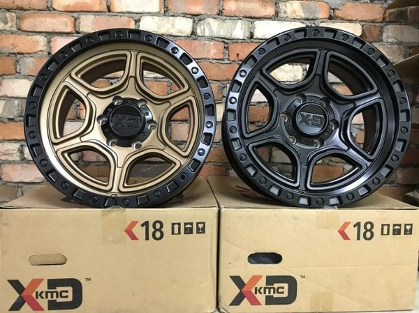 xd139 portal satin bronze wheels rims 4x4 4wd