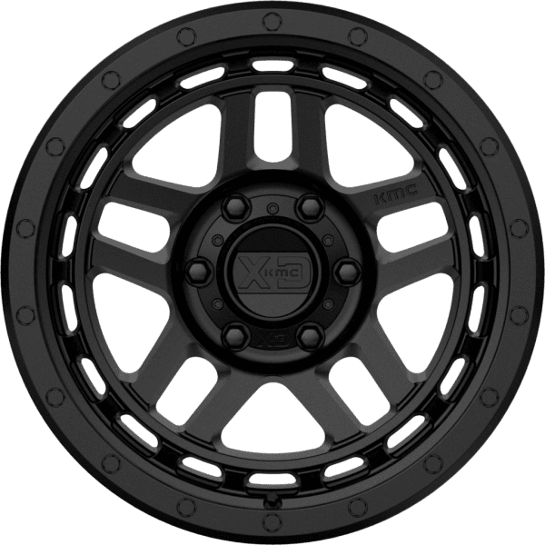 kmc xd140 recon satin black machined wheels rims 4x4 4wd