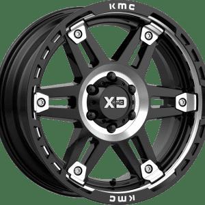 kmc kmc xd840 spy 2 gloss black machined dark tint wheels rims 4x4 4wd