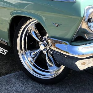 american racing vn515 polished torq thrust wheels