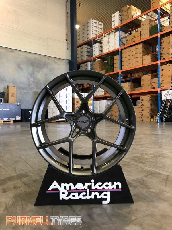 american racing ar924 crossfire semi forged wheels rims graphite grey