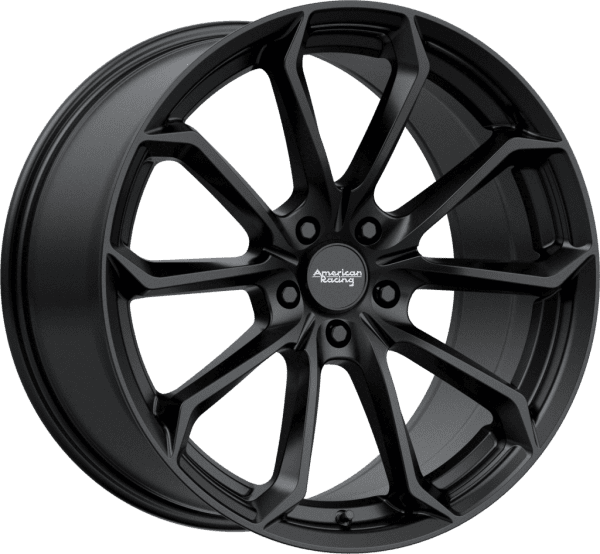 american racing ar932 splitter concave wheels rims satin black