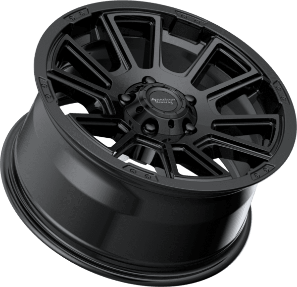 american racing ar933 gloss black wheels rims 4x4 4wd