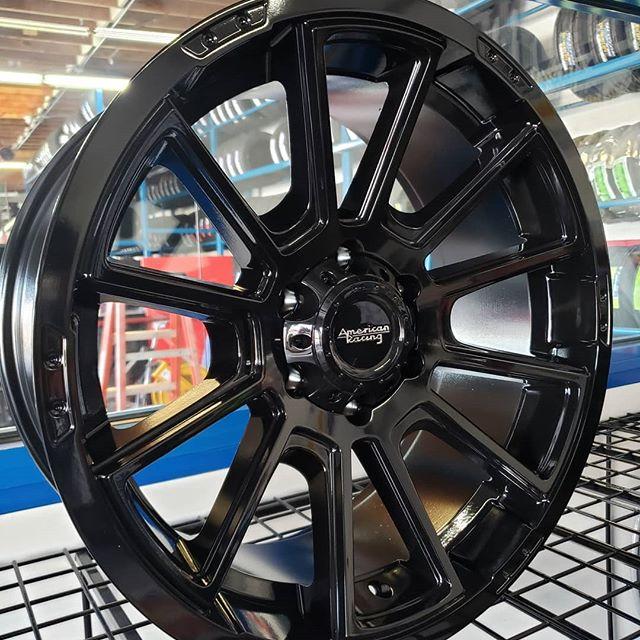 18 inch American Racing AR933 Intake Gloss Black   Purnell Tyres
