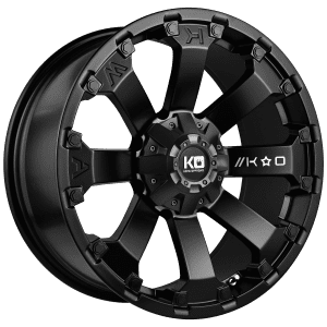 king ambush satin black wheels rims 4x4 4wd