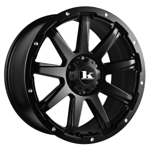 king gator satin black wheels rims 4wd 4x4
