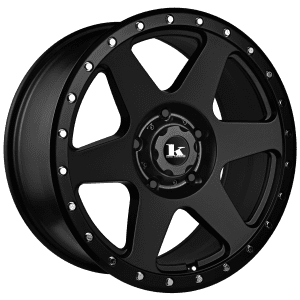 king quake satin black wheels rims 4wd 4x4 toyota landcruiser