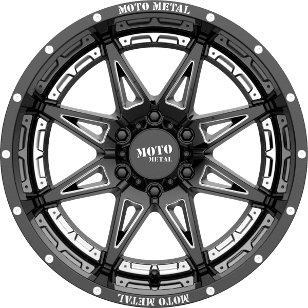 moto metal mo993 hydra gloss black milled wheels rims 4x4 4wd
