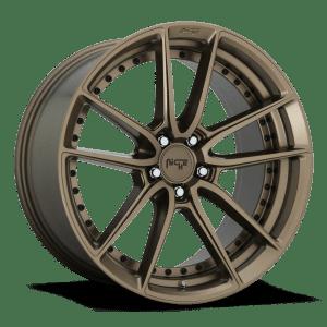 niche dfs matte bronze dish concave wheels rims