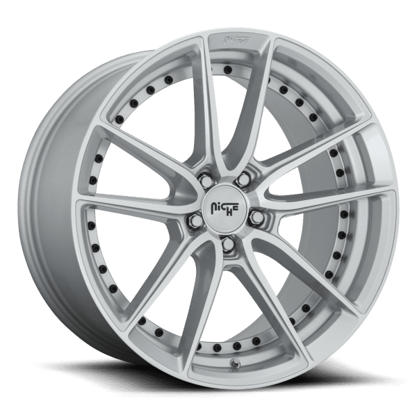 niche dfs silver machined face dish concave wheels rims