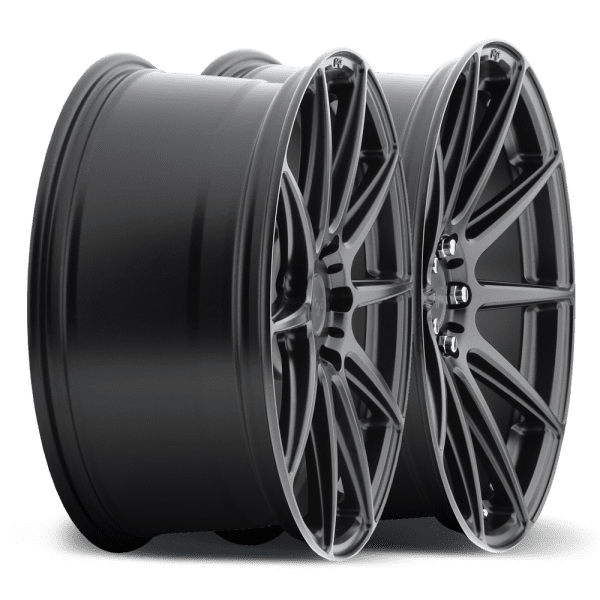 niche essen satin black concave wheels rims