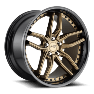 niche methos bronze black lip concave wheels rims
