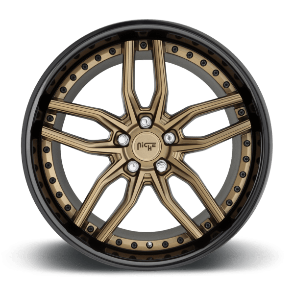 niche methos bronze black lip concave wheels rims