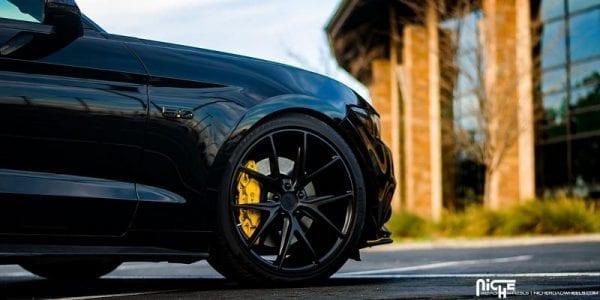 niche misano matte black concave wheels rims