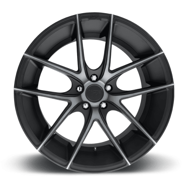 niche targa black dark tint concave wheels rims